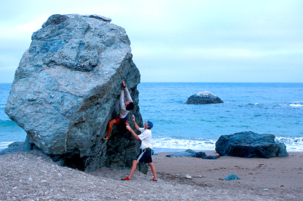 CJ Pearson & Seth Lightcap, west-end of Catalina Island
